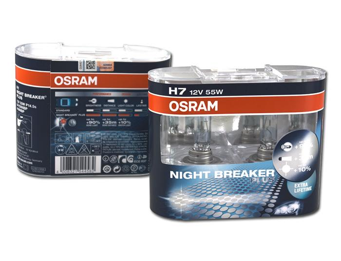 Osram night breaker h7