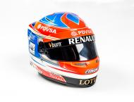 1:2 Scale Helmet Romain Grosjean 2014